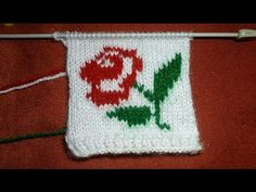 How Can We Make Rose Flower By Knitting, Simple & Easy Tutorial, Indian Happy Creation. Hello Friends, Today I will show u how can you make Rose flower By knitting So if you want to make flower then see my full . it is very easy to learn this is simple Knitting Videos, Easy Knitting, Floral Sweater, Girls Sweaters, Indian, Make It Yourself, Canning, Rose, Simple