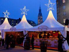 Weihnachtsmarkt Jungfernstieg, Hamburg