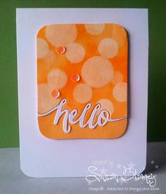 Sue's Card Craft: Addicted To Stamps and More #127 - Make Your Mark