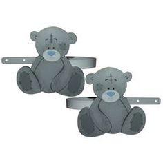 teddy theme - Tatty Teddy Curtain Tiebacks