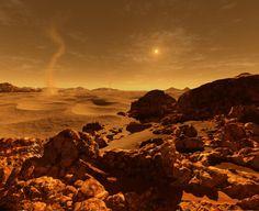 Marsjańska pustynia