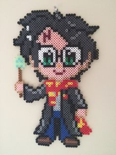 Harry Potter perler beads by UniqueGeekCrafts