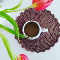 #gutenmorgen #morning #horgolt #häkeln #koffie #cafe #kávé #kaffee #crochet #instacrochet # by mamuszandra