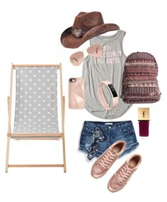 """""""Surf Opening"""" by susanne-heindl on Polyvore featuring Mode, Zara, Hollister Co., Billabong, H&M, Peter Grimm, Fitbit, Rebecca Minkoff, Yves Saint Laurent und Ray-Ban"""
