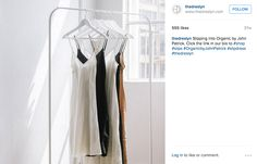 MUST MAKE PERFECT SLIP DRESS!  + Look up designer mentioned in the caption