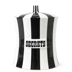 Jonathan Adler Secrets Canister from Jonathan Adler. Shop more products from Jonathan Adler on Wanelo. Jonathan Adler, Mid Century Modern Furniture, Luxury Gifts, Cookie Jars, Home Decor Items, Home Gifts, Decorating Tips, Decor Styles, The Secret