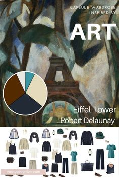 How to Pack for a Long Weekend (in Paris?)? Start with Art: Eiffel Tower by Robert Delaunay