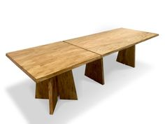 Double Dining Table Extension - Marri Timber designer dining table - unique fine furniture