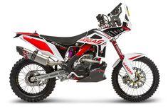 GasGas EC450 Rally Raid. Dakar Rally Motorcycle.