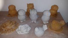 Selber erstellte Latexformen und die ersten Mörtelabgüsse Latex, Form, Dairy, Eggs, Cheese, Breakfast, Morning Coffee, Egg, Egg As Food