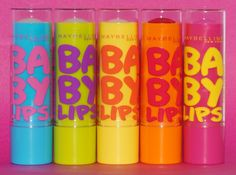 Maybelline Baby Lips Got to love them I've got the yellow one (intense care)