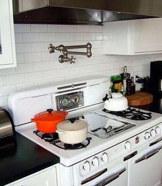 Dream Kitchen Feature: Pot Filler Faucet