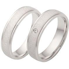 simple & beautiful wedding rings palladium Source by joolynde Cool Wedding Rings, Beautiful Wedding Rings, White Gold Wedding Rings, Beautiful Diamond Rings, Deco, Jewerly, Engagement Rings, Simple, Weddings