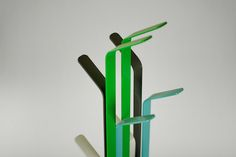 Fence coat stand by Lime Studio