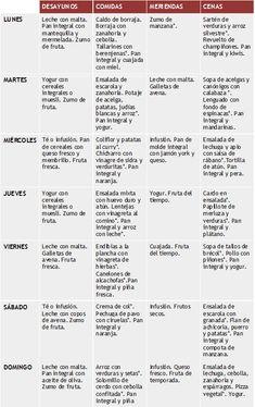 dieta de las 1000 calorias pdf