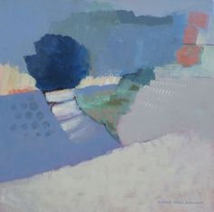 Sunny Steps - Acrylic on canvas