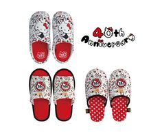 40th Anniversary! ★ Hello Kitty slippers   Goods   Hello Kitty 40th Anniversary Special Site