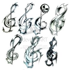 music tattoos | music tattoos for the man