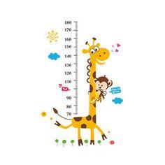 Venda Por Atacado 2015 Hot! New S5q Girafa Macaco Vinil Removível Wall Decal Adesivos Crianças De Altura Medida Pés De Altura Adesivos De Parede Quarto Das Crianças Em Eshop2019, $8.38 Em Pt.Dhgate.Com | Dhgate