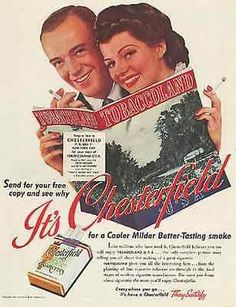 """paperink id: ads8005 Rita Hayworth Fred Astaire Chesterfield 1941 Photo AD This is an ORIGINAL PERIOD Magazine Advertisement measuring approximately 10.5"""" x 13.75"""". AD is in Very Good Condition as sho"""