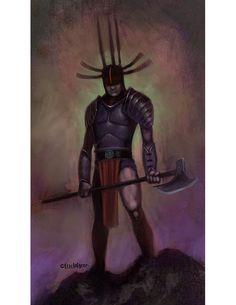 Eric Lofgren Presents: Axe Warrior - Misfit Studios | Eric Lofgren | Publisher Resources | DriveThruRPG.com Warriors Standing, Hand Axe, Privateer Press, White Wolf, Stock Art, Art File, Misfits, All Art