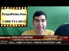 Utah Utes vs. Stanford Cardinal Pick Prediction NCAA College Basketball ...
