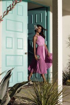 Halston Heritage Spring 2016 Ready-To-Wear