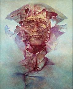 Zdzisław Beksiński was a renowned Polish painter, photographer, and sculptor who is best known as a fantasy artist.