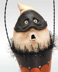 IScream Cone Surprised Boo by chickenlipsfolkart on Etsy