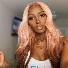 Black Girl Hair Colors, Hair Color For Dark Skin, Blonde Hair Black Girls, Ash Blonde Hair, Platinum Blonde Hair, Black Curly Hair, Ombre Hair Dark Skin, Blonde Hair With Color, Two Color Hair