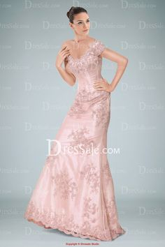 Delicate Satin Off-the-shoulder Sheath Evening Gown Highlighted with Lace Applique