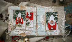 Скрапоголики: Рождественский альбом с чипбордом Fluffy Duffy