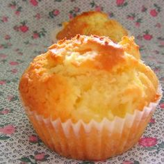 Use Coconut Oil - Pineapple Muffins Recipe: I used brown sugar and coconut oil, they were perfect! - 9 Reasons to Use Coconut Oil Daily Coconut Oil Will Set You Free — and Improve Your Health!Coconut Oil Fuels Your Metabolism! Pineapple Muffins, Pineapple Recipes, Pineapple Rolls Recipe, Pineapple Bread, Pineapple Cupcakes, Muffin Tin Recipes, Baking Recipes, Almond Recipes, Puddings