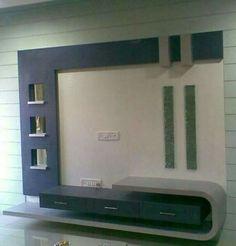Bedroom Tv Unit Design, Lcd Unit Design, Lcd Wall Design, Modern Tv Unit Designs, Wall Wardrobe Design, Tv Unit Furniture Design, Tv Unit Interior Design, Wall Unit Designs, Modern Tv Wall Units