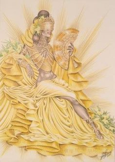 Oxum Ifa Religion, Yoruba Religion, Oshun Goddess, African Mythology, Black Love Art, Real Mermaids, Mother Goddess, Orisha, African American Art
