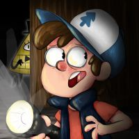 Dipper and Bill by RadCatBlakat