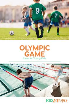 A collection of 10 fun Olympic game ideas for kids. Great for an Olympic theme day at school and getting kids into the Olympic spirit. Outdoor Games For Kids, Fun Games For Kids, Games For Toddlers, Charades For Kids, Indoor Activities For Kids, Kid Activities, Olympic Idea, Olympic Games, Discus Throw