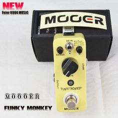 Aliexpress.com : Buy New MOOER FUNKY MONKEY Auto Wah Pedal Wide adjustable range auto wah effects Free shipping best guitar pedal from Reliable Effect Pedal suppliers on Feier MUSIC $88.00
