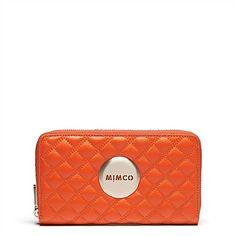 Leather Women's Wallets, Travel Wallets & Purses | Mimco - Revolution Mim Wallet