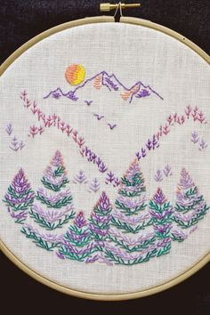 Grand Sewing Embroidery Designs At Home Ideas. Beauteous Finished Sewing Embroidery Designs At Home Ideas. Hand Embroidery Patterns Free, Embroidery Stitches Tutorial, Hand Embroidery Stitches, Learn Embroidery, Vintage Embroidery, Embroidery Techniques, Embroidery Kits, Ribbon Embroidery, Knitting Stitches