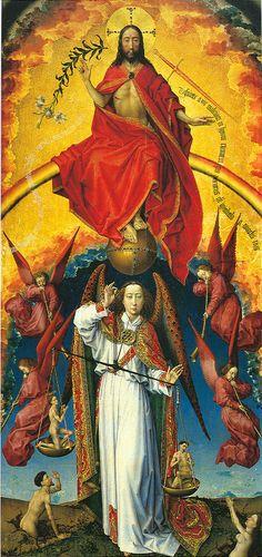 Rogier van der Weyden - Last Judgement / Weyden / C15th (69,0 x 89,0 cm)