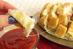 Cheesy pizza pull apart bread and other Super Bowl ideas