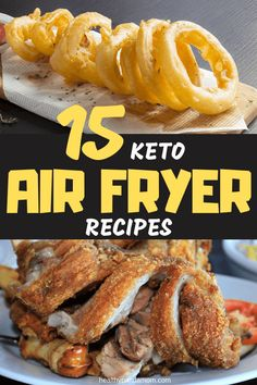 15 keto air fryer recipes to keep your diet interesting keto low carb healthy recipes 30 mediterranean diet recipes that take 30 minutes or less Air Fryer Recipes Keto, Air Fryer Dinner Recipes, Healthy Low Carb Recipes, Low Carb Keto, Diet Recipes, Primal Recipes, Paleo Meals, Paleo Food, Steak Recipes