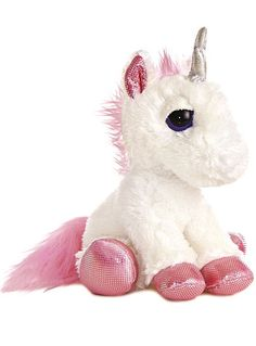 Utopia the Unicorn Plush Stuffed Animal - Available at ShopPlasticland.com