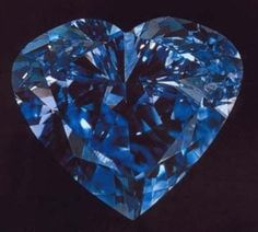 Heart of Eternity Diamond 27.64 Carats South Africa Blue
