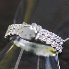 Hello Kitty & Swarovski Cocktail Ring!