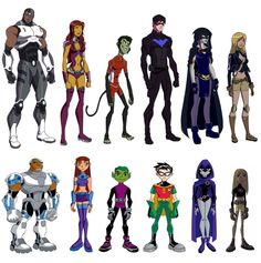 Young Justice and Teen Titans Marvel Dc Comics, Dc Comics Art, Marvel Vs, Teen Titans Go, Gi Joe, Original Teen Titans, Hq Dc, Mundo Comic, Dc Comics Characters