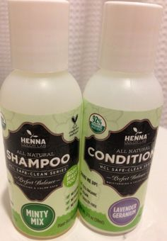 Henna Color Lab Products Review #natural #hairdye