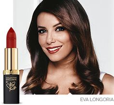 Color Riche Collection Exclusive Reds - Eva's Red  #lipstick #coloriche #lips #red #redlips