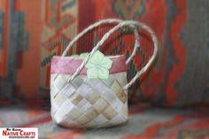 Cute Pandan Bag for wedding giveaways, birthdays, souvenirs, gifts.
